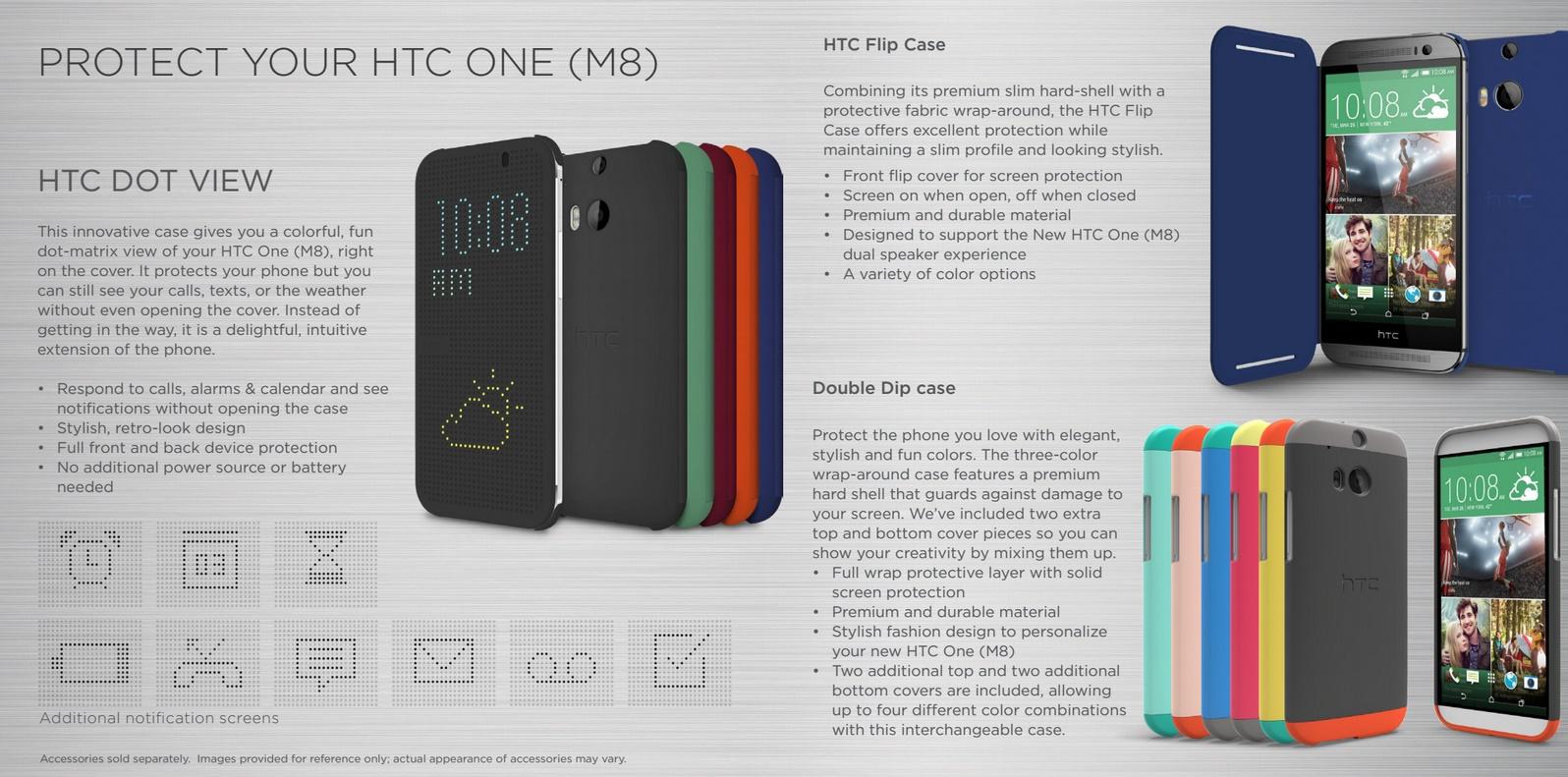 ACCESSOIRES HOUSSE HTC ONE M8