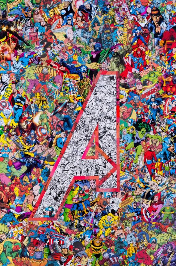 2_1_10_les-collages-super-heroiques-garcin-avengers