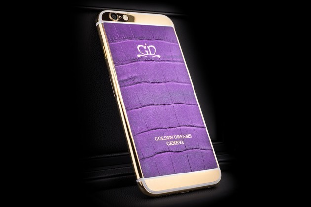 Luxury-iPhone-6-by-Golden-Dreams-Desert-Edition-Purple-Sparkling-630x420