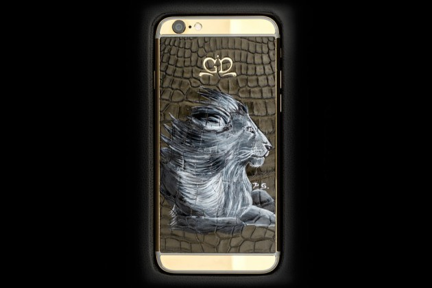 Luxury-iPhone-6-by-Golden-Dreams-Hand-Painted-Edition-Lion-630x420