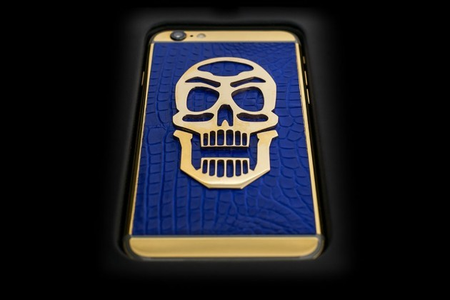Luxury-iPhone-6-by-Golden-Dreams-Skull-Edition-Blue-630x420