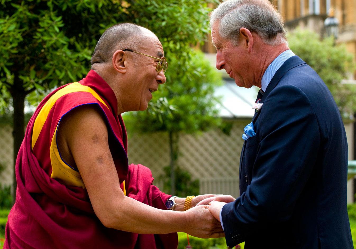 Dalaï Lama en Rolex