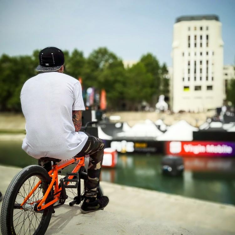 Jack Fahey, BMX pro rider.