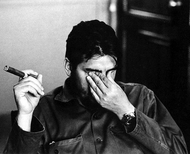 Che Guevara en Rolex
