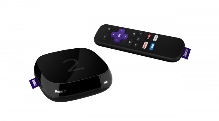 Roku 2 Front + Remote - No Overlap