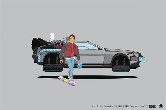 2_1_17_les-personnages-films-series-cultes-posent-avec-leurs-vehicules-emblematiques-retour-vers-futur