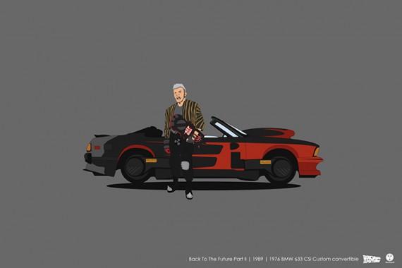 2_1_18_les-personnages-films-series-cultes-posent-avec-leurs-vehicules-emblematiques-retour-vers-futur