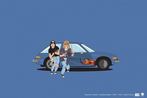 2_1_20_les-personnages-films-series-cultes-posent-avec-leurs-vehicules-emblematiques-wayne-world