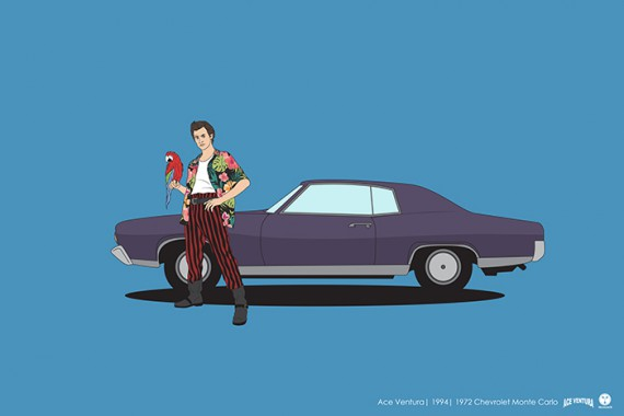 2_1_23_les-personnages-films-series-cultes-posent-avec-leurs-vehicules-emblematiques-ace-ventura