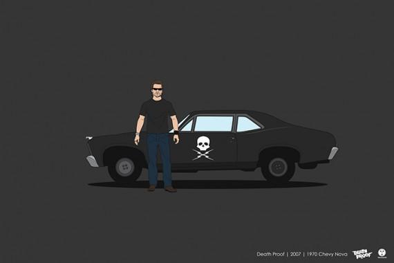 2_1_27_les-personnages-films-series-cultes-posent-avec-leurs-vehicules-emblematiques-boulevard-mort