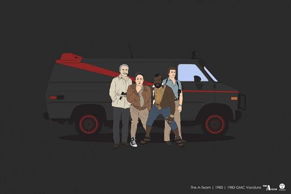 2_1_34_les-personnages-films-series-cultes-posent-avec-leurs-vehicules-emblematiques-agence-tous-risques