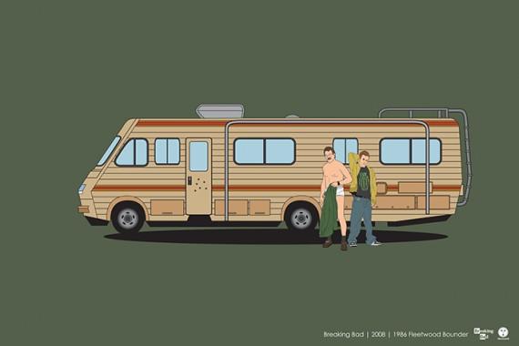 2_1_38_les-personnages-films-series-cultes-posent-avec-leurs-vehicules-emblematiques-breaking-bad