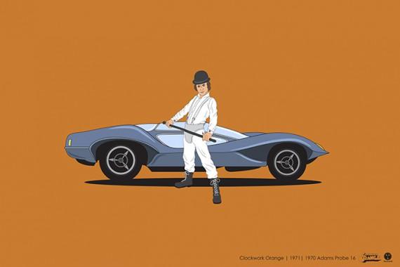 2_1_6_les-personnages-films-series-cultes-posent-avec-leurs-vehicules-emblematiques-orange-mecanique