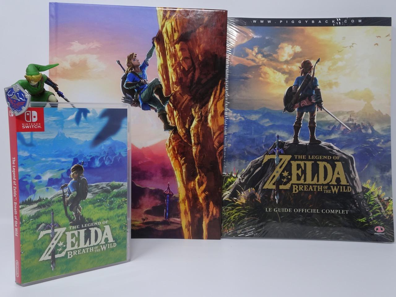 Livre Guide Officiel De Zelda Breath Of The Wild A Moi