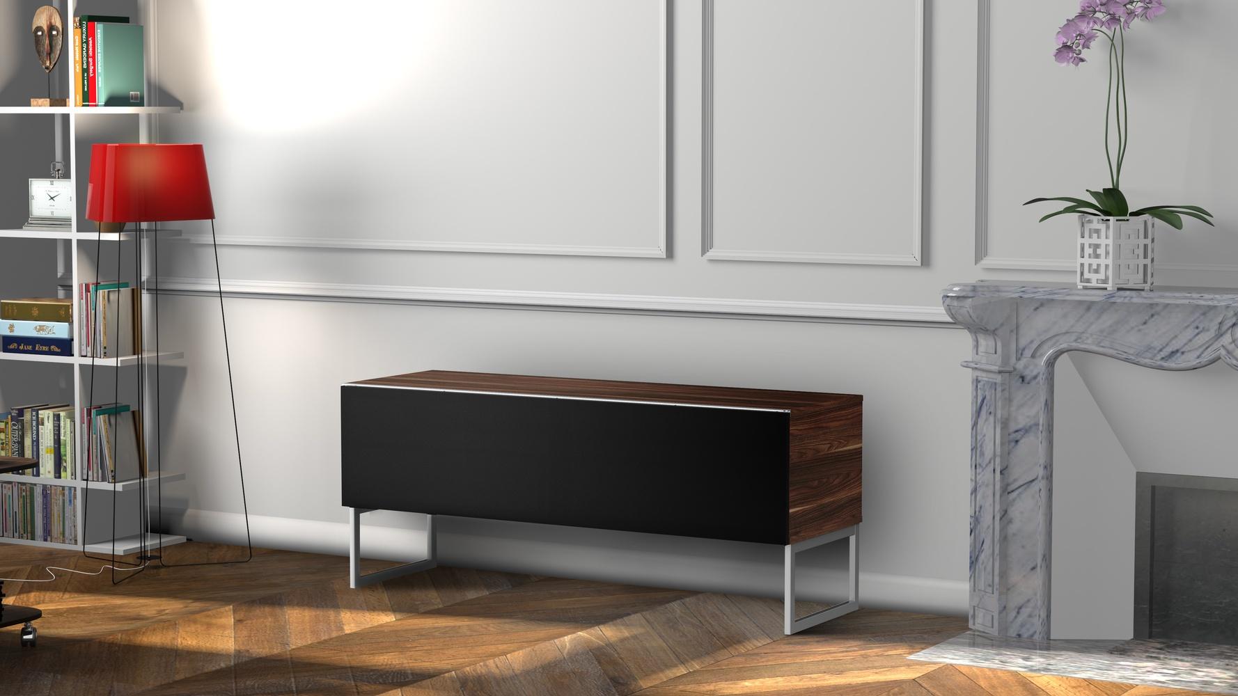 Meuble Tv Avec Cache Fils meliconi réinvente le meuble tv design – w3sh