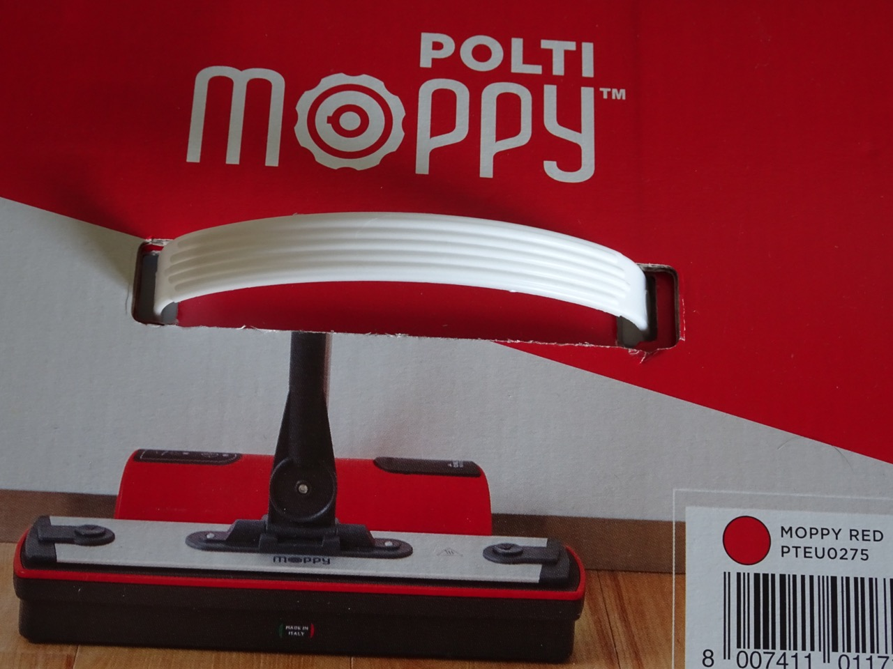Test Balai vapeur Moppy