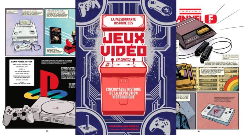 L histoire-des-jeux-vidéo-en-Comics-chez-Omaké-Books