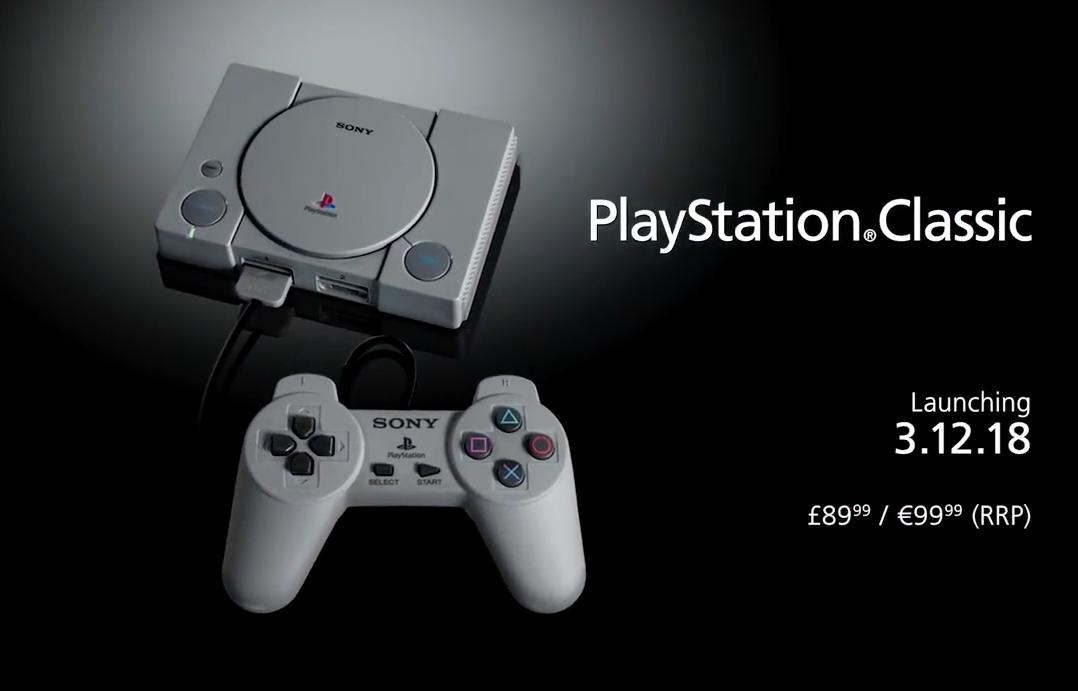 PlayStation Classic - Gouaig