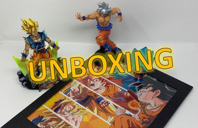 Unboxing poster metallique GOKU - Gouaig