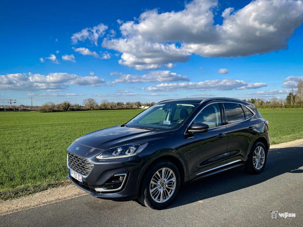 ESSAI : Ford Kuga Vignale, diesel et légèrement hybride - w3sh